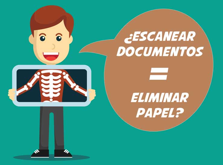 Escanear Documentos Eliminar Papel